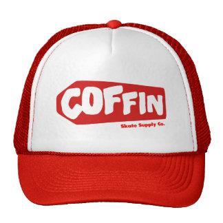 Coffin Skates Big Red Trucker Hat