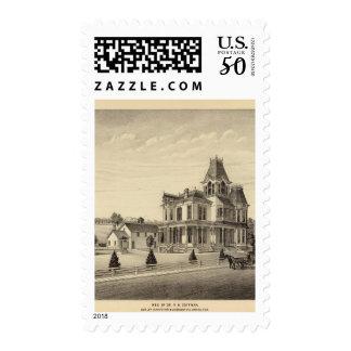 Coffman, Nebraska Postage