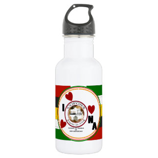 Cofona – Guyanese Flag Colors RokCloneDesigns Stainless Steel Water Bottle