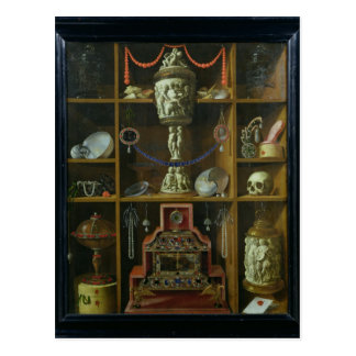 Cofre del tesoro 1666 postal