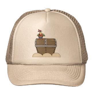 Cofre del tesoro gorras