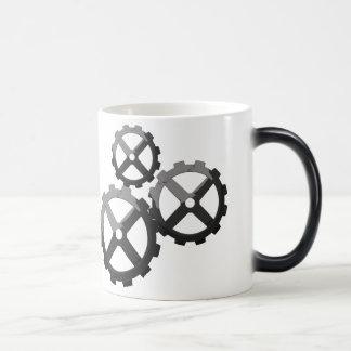 Cog Mug! 11 Oz Magic Heat Color-Changing Coffee Mug