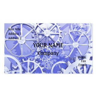Cog wheels business card