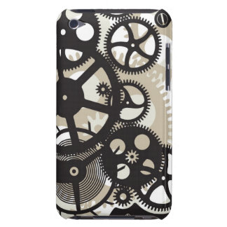 Cog wheels work barely there iPod cover