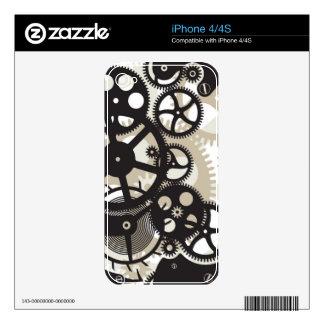 Cog wheels work iPhone 4S skins
