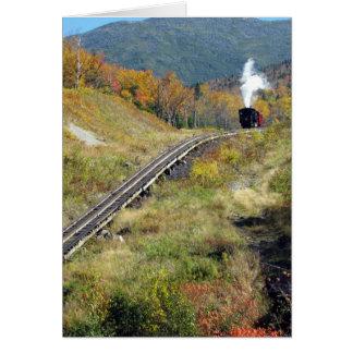Cogg Railroad, Mount Washington, New Hampshire Card