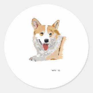 Cogi Classic Round Sticker
