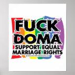 Cogida DOMA LGBTQIA Impresiones