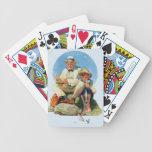 Cogida el grande cartas de juego
