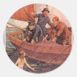¡Cogimos una sirena! Vintage Etiqueta