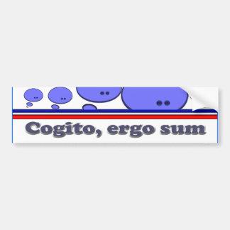 Cogito Bumper Sticker