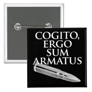 Cogito ergo suma Armatus Pins