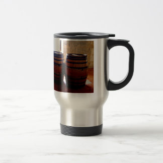 Cognac Brandy Barrels Travel Mug