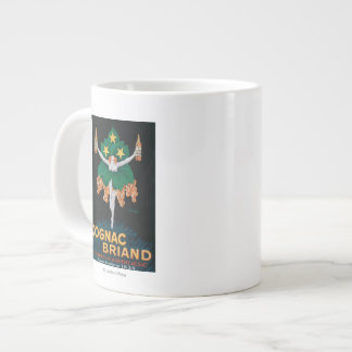 Cognac Briand Promotional Poster Large Coffee Mug