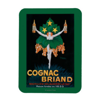 Cognac Briand Promotional Poster Magnet