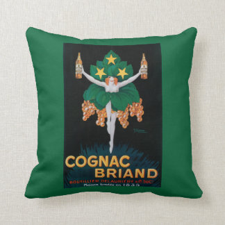 Cognac Briand Promotional Poster Pillow