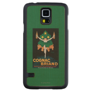 Cognac Briand Promotional Poster Carved® Maple Galaxy S5 Slim Case
