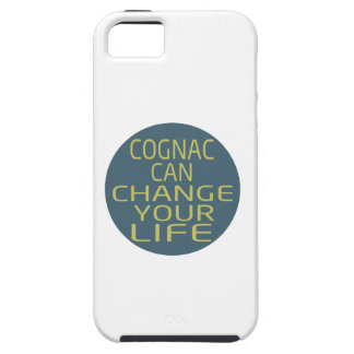 Cognac Can Change Your Life iPhone 5/5S Cases