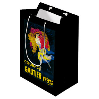 Cognac Gautier Promotional PosterFrance Medium Gift Bag