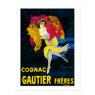 Cognac Gautier Promotional PosterFrance Postcard