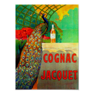 Cognac Jacquet Vintage Advertising Fine Art Poster