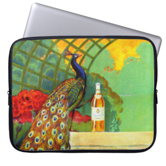 Cognac Jacquet Vintage Advertising Poster Laptop Sleeve