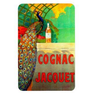 Cognac Jacquet Vintage Advertising Poster Magnet