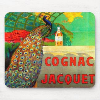 Cognac Jacquet Vintage Advertising Poster Mouse Pads