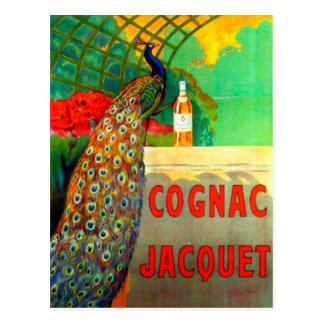 Cognac Jacquet Vintage Advertising Poster Postcard