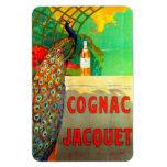 Cognac Jacquet Vintage Advertising Poster Vinyl Magnet
