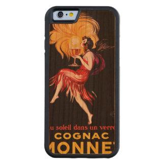 Cognac Monnet by Cappiello Carved® Cherry iPhone 6 Bumper Case