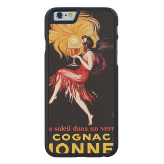 Cognac Monnet by Cappiello Carved® Maple iPhone 6 Case