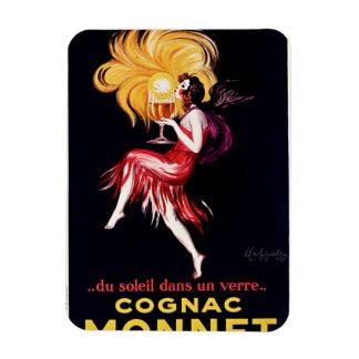 Cognac Monnet by Cappiello Magnet