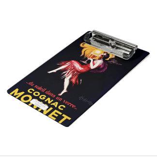 Cognac Monnet by Cappiello Mini Clipboard