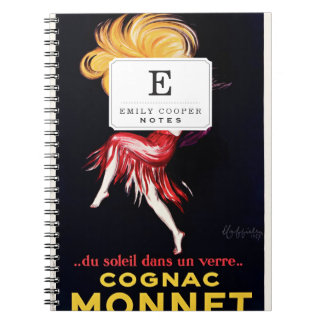 Cognac Monnet by Cappiello Notebook