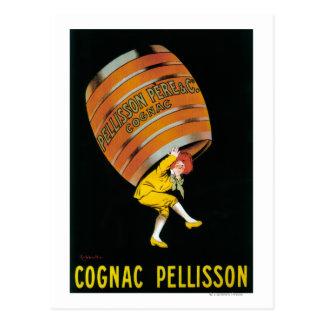 Cognac Pellisson Promotional PosterFrance Postcard