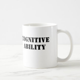 Cognitive Ability Coffee Mug