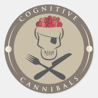 Cognitive Cannibals Classic Round Sticker