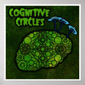 "Cognitive Circles (12"" x 12"") Poster"