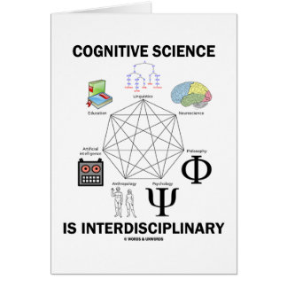 Cognitive Science Is Interdisciplinary Cards