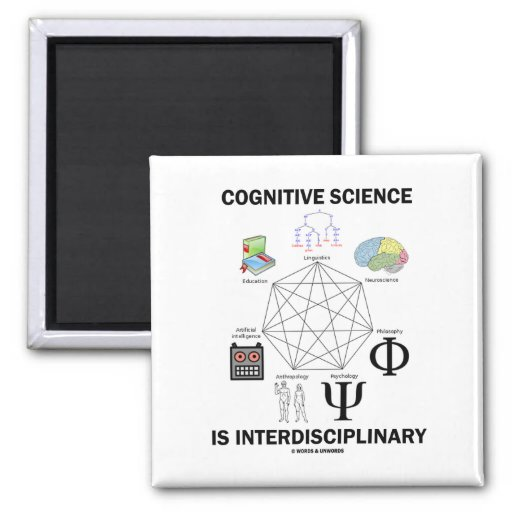 Cognitive Science Is Interdisciplinary Refrigerator Magnets