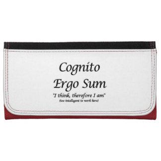 Cognito Ergo Sum (large Wallet)
