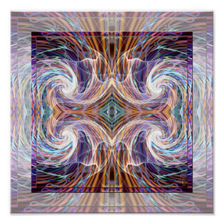 Cognizant Energies (12 by 12) Art Print Poster