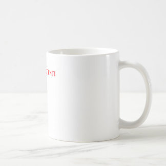 cognoscenti classic white coffee mug