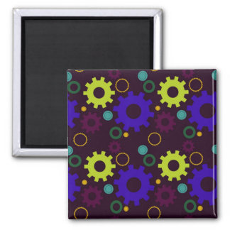 Cogs and Gears (Purples and Greens) Magnets