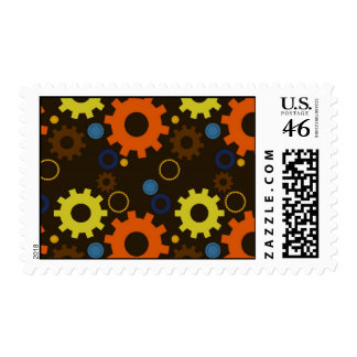 Cogs and Gears Stamp