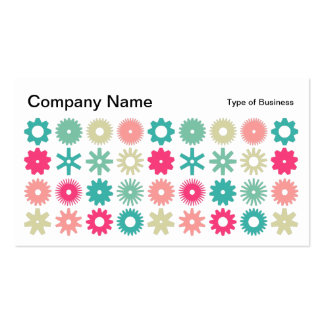 Cogs - Colors 01 Business Card
