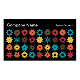 Cogs - Colors 02 Business Card