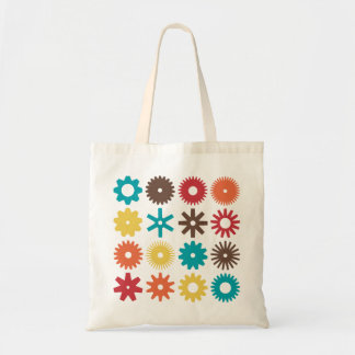 Cogs - Colors 02 Tote Bag
