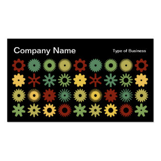 Cogs - Colors 03 Business Card